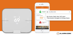 Smart Thermostat from Crime Prevention Security Systems